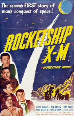 Poster - Rocketship X-M (1950)