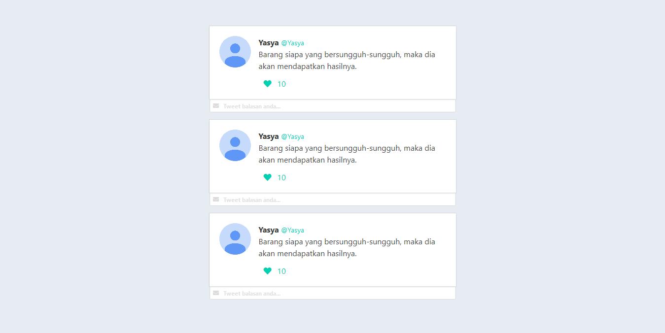 Membuat Aplikasi Twitter dengan Vue