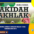 Buku Siswa Akidah Akhlak Kelas 11 MA Kurikulum 2013