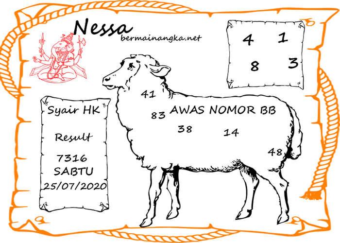 Kode syair Hongkong Sabtu 25 Juli 2020 148