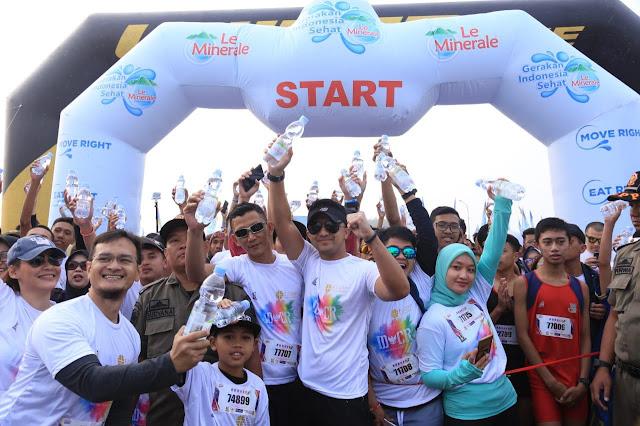 Kampanye-Gerakan-Indonesia-Sehat-Le-Minerale,-Hidup-Sehat-Berawal-Dari-Minum-Air-Mineral