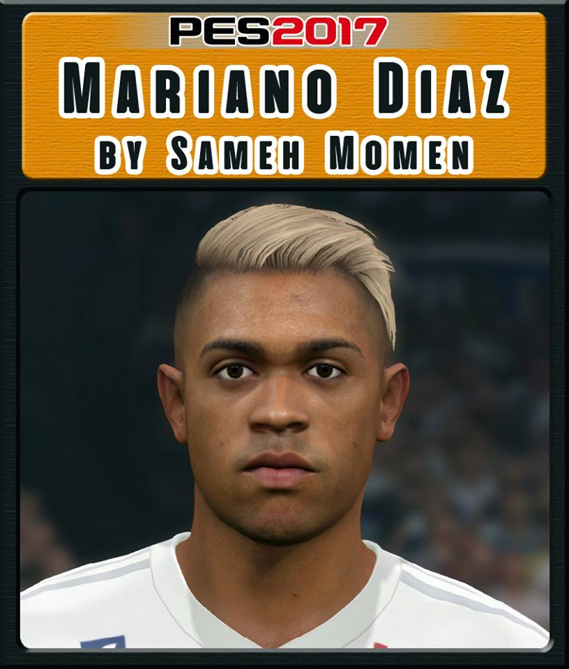 PES 2017 M. Diaz Face by Sameh Momen