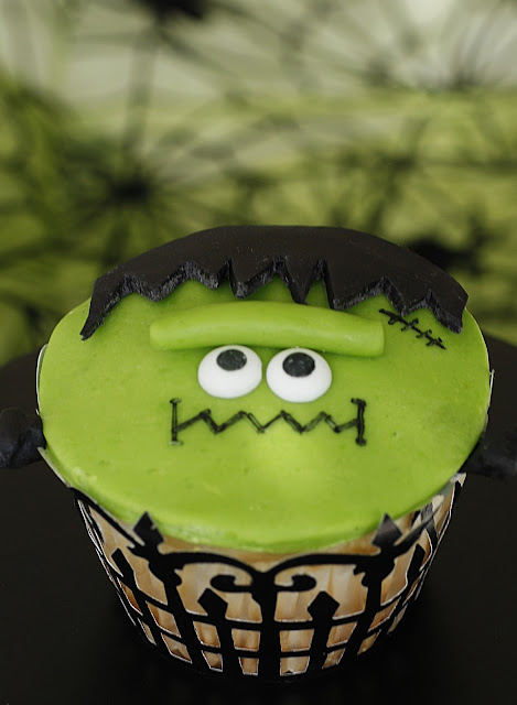 Cut Hair In Dream Frankie Frankenstein Cupcakes And Giveaway Purple