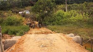 Construção de passagem molhada melhora acesso à comunidade da Zona Rural do Paulista
