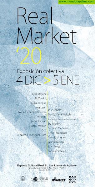"""Exposción colectiva """"Real Market"""" en el Espacio Cultural Real 21 de Los Llanos de Aridane"""