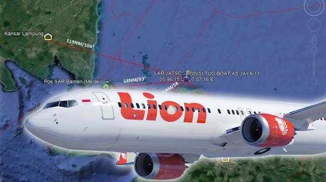 TERKUAK, FDR Berhasil Diunduh, Penyebab Jatuhnya Lion Air Bukan Masalah Mesin