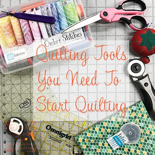 Learn what tools are must have for new quilters.
