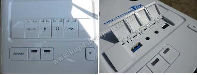 Port USB yang cukup inovatif