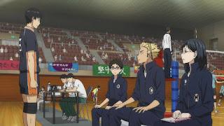 ハイキュー!! アニメ 2期15話   HAIKYU!! Karasuno vs Johzenji