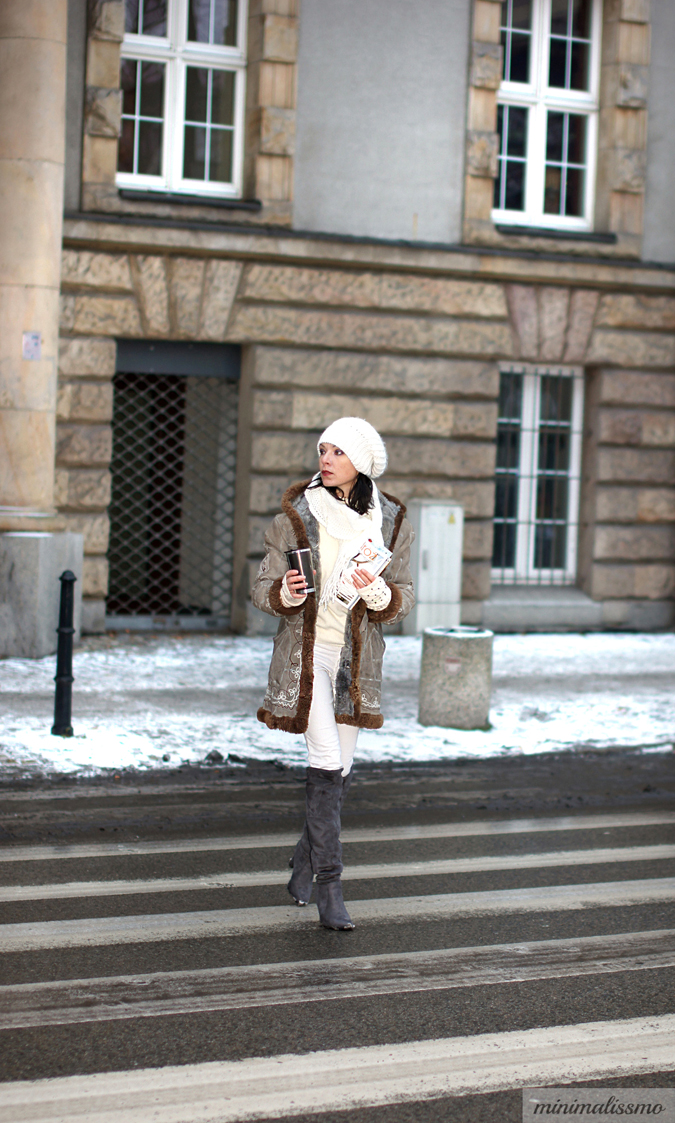 Sheepskin coat, etno, folk