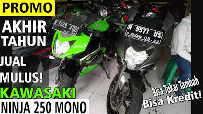 Harga Kawasaki Ninja 250 Fi Mono di Semarang By Inukotovlog