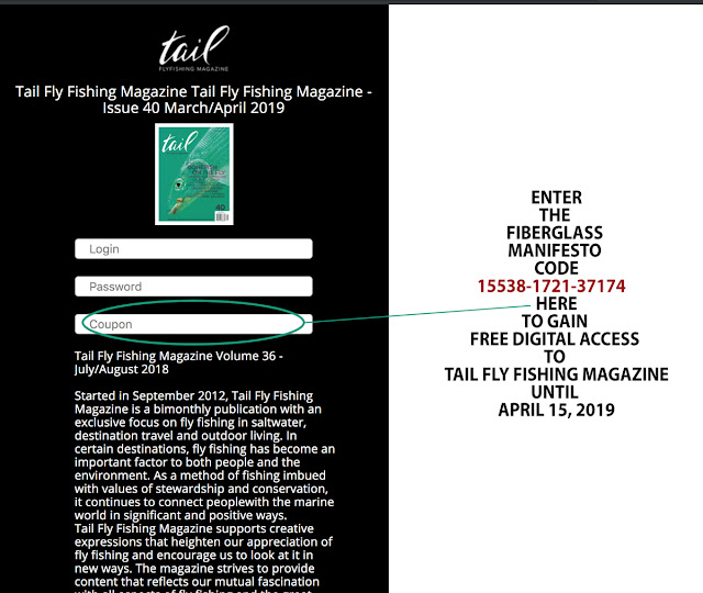 TAIL FLY FISHING MAGAZINE - Total Access for T.F.M. Readership