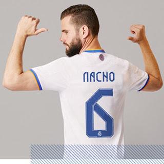 ناتشو بقميص ريال مدريد الجديد 2022/2021