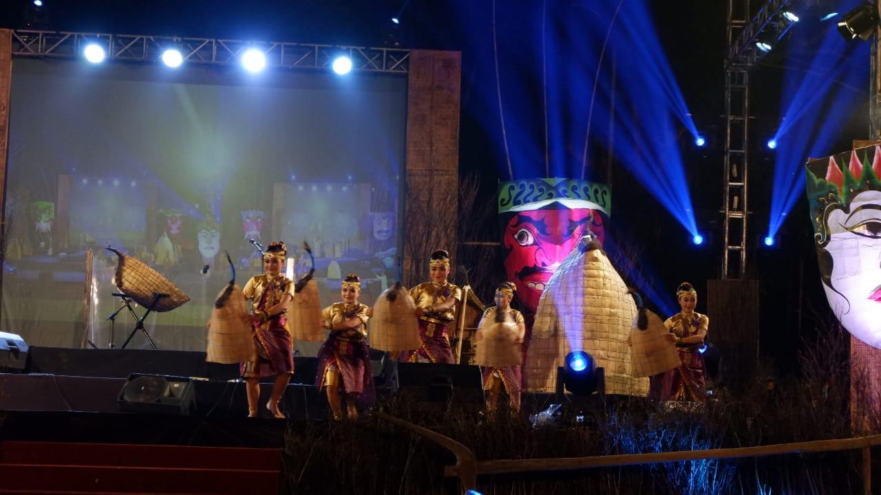 Konser Bundengan pukau masyarakat Wonosobo