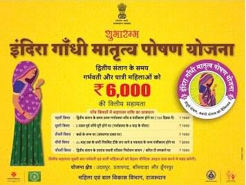 इंदिरा गांधी मातृत्व पोषण योजना ऑनलाइन आवेदन