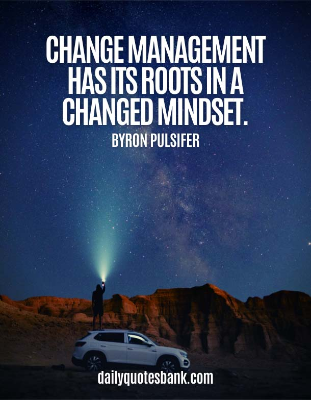 Change Quotes About Strong Mindset