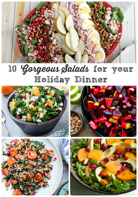 10 Gorgeous Salads for Your Holiday Dinner