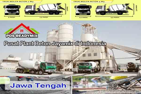 Harga Beton Jayamix Jawa Tengah