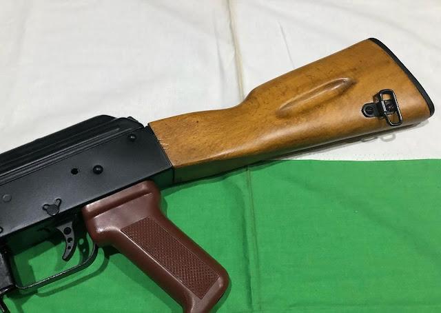 Wooden-Stock-AK-74-Bulgarian