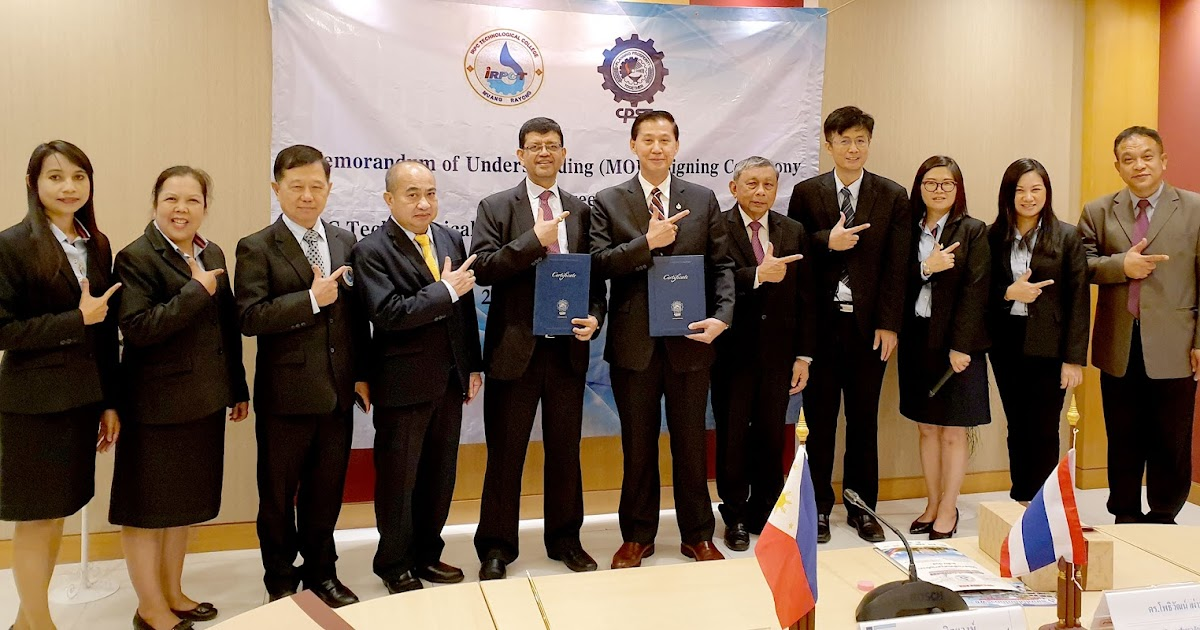 Cpsc And Irpc Technological College Thailand Sign Mou In