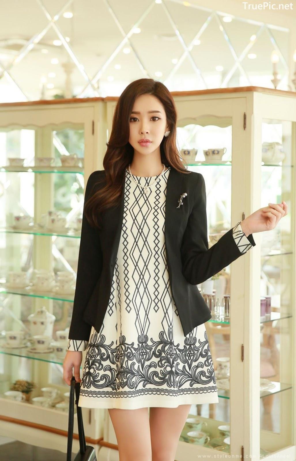 Image-Korean-Fashion-Model-Park-Da-Hyun-Office-Dress-Collection-TruePic.net- Picture-1