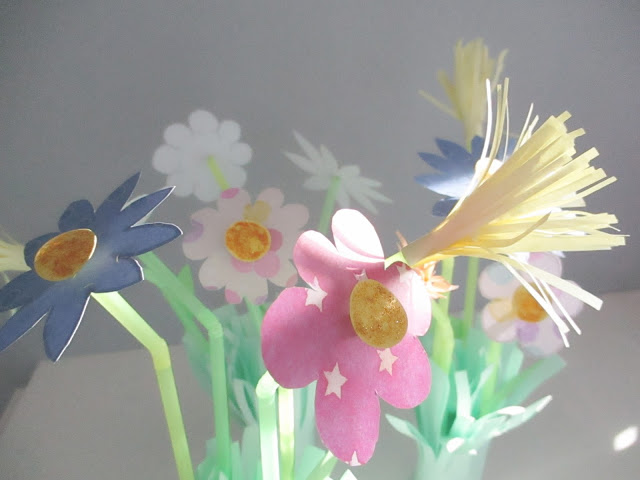 bouquet fleurs diy pâques