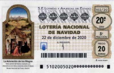Lotería de Navidad 2020, premios y lista oficial del sorteo extraordinario del 22 de diciembre.