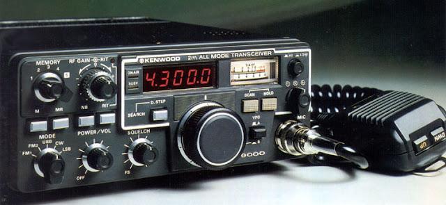 Kenwood TR-9000 Amateur Mobile Radio