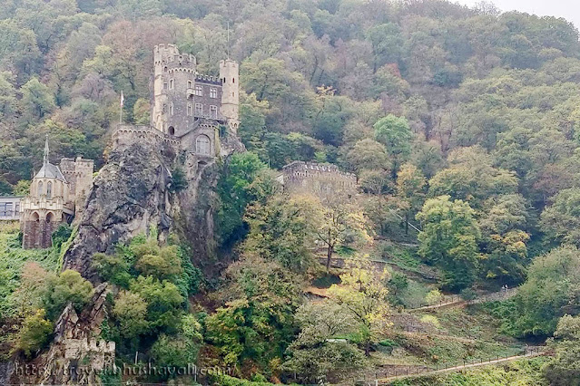 Castles on the Rhine - Rheinstein Castle