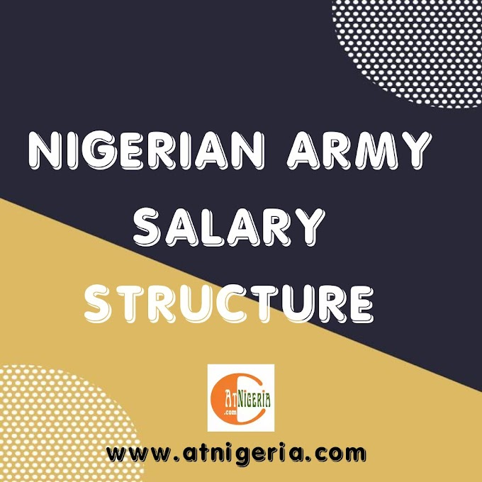 Nigerian Army Salary Structure for this Year