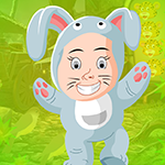 Play Games4King - G4K Rabbit Girl Escape Game