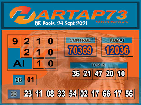 Hartap73 HK Jumat 24 September 2021 -