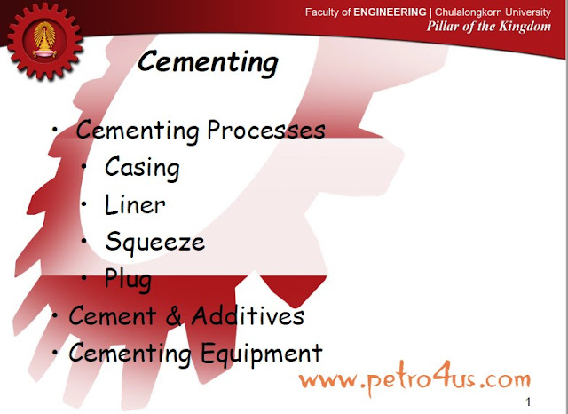 Oil and Gas Well Cementing