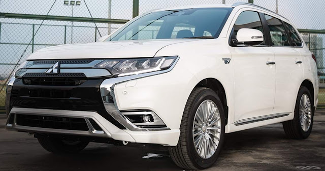 New Mitsubishi Outlander Phev Indonesia Putih