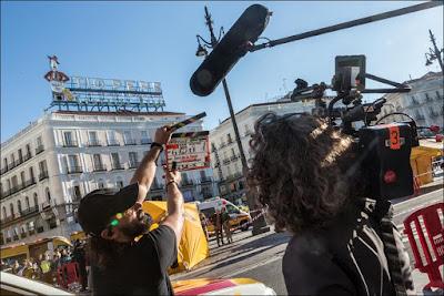 Rodaje en Madrid
