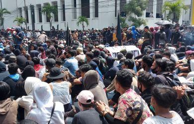 KontraS Sumut Ungkap Lima Fakta Cacat Hukumnya Penangkapan Aktivis Mahasiswa Saat Demo Tolak Omnibus Law