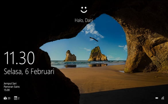 Fitur Windows Hello