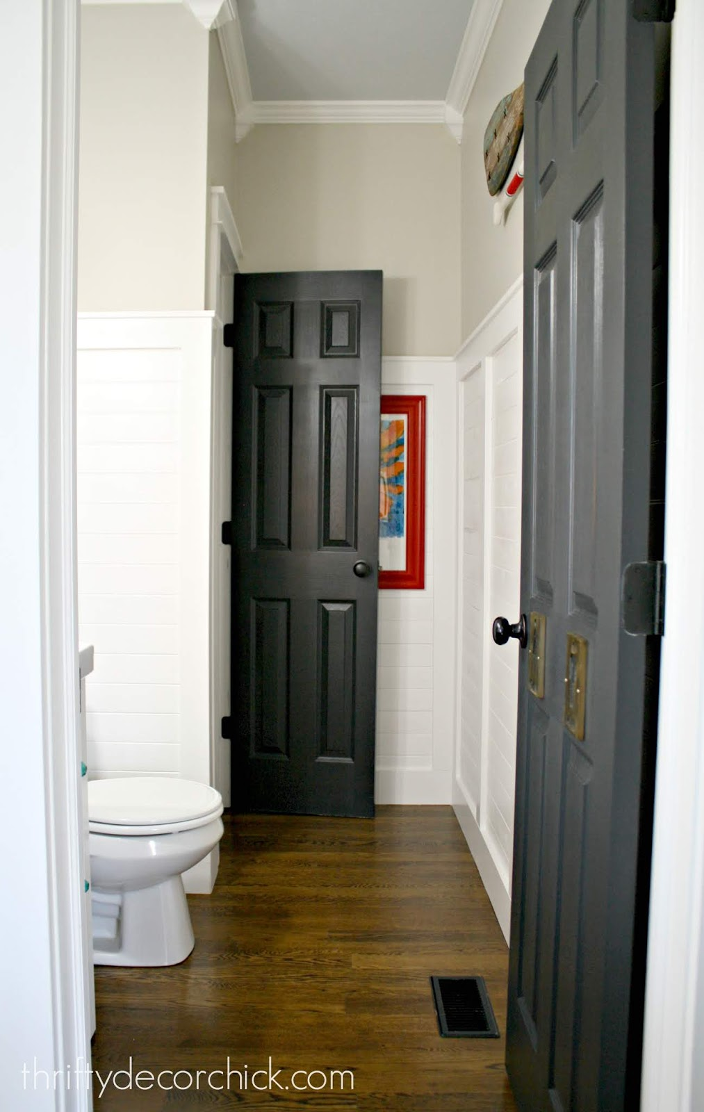 Why Painting Your Doors Black Br Is Always A Good Idea From Thrifty Decor Chick