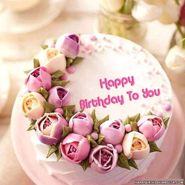 happy birthday cake with name images