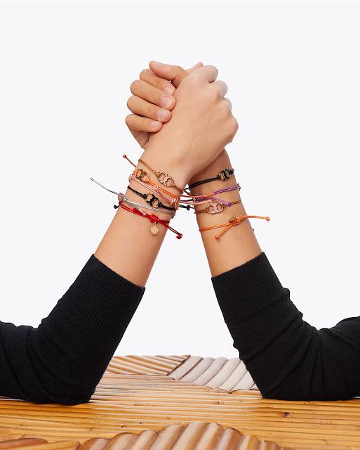 Tory Burch Foundation bracelets