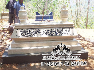 Makam Marmer, Makam Marmer Asli, Makam Marmer Bokoran Tumpuk