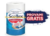 Logo Scottex Puliscifacile Provami Gratis: ricevi il cashback di quanto speso