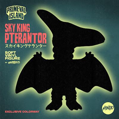 Sky King Pterantor Glow-in-the-Dark Mondo Variant Soft Vinyl Figure by Chris Lee - The Beast is Back