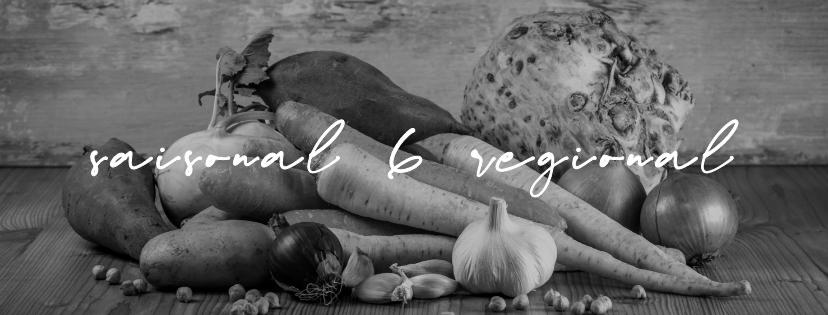 saisonal und regional - die monatliche Blogparade