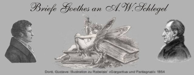 Briefe Goethes an A. W. Schlegel-