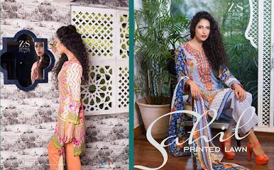 Sahil printed lawn kurti dresses 2017