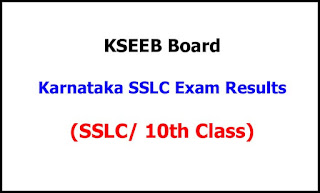 Karnataka SSLC Exam Results 2021