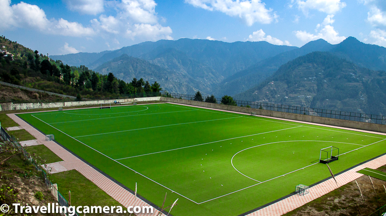 Hockey stadium at the Sports Authority of India's high-altitude training centre in Shilaroo is approximately 50 km away from state capital Shimla, Himachal Pradesh. This part of Himachal is also popular for it's fruit orchards. If you are around Shilaroo during fruit harvest season, you may witness some awesome sights. Each fruit harvesting period is different. Irrespective of that, following fruit orchards can be seen around Shilaroo - Apples, Peach, Cherries, Apricot, pear etc.