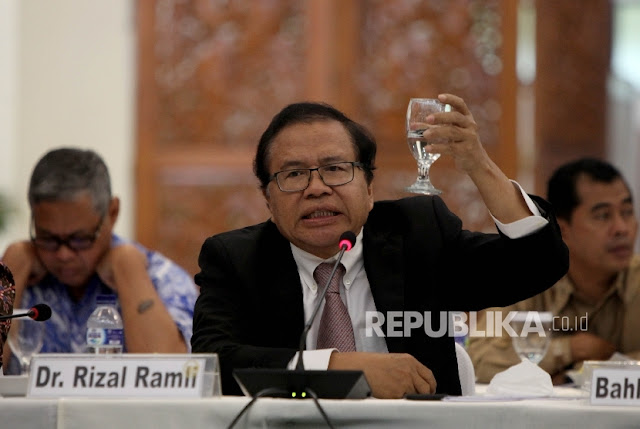 Rizal Ramli Ungkap Sifat Jokowi: Ini Orang Malas Baca, Kan Repot Jadinya Imbasnya ke Rakyat