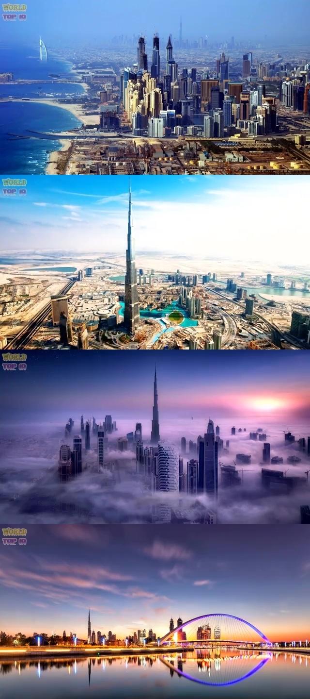 TOP 10 MOST BEAUTIFUL CITIES IN ASIA 2019 2. Dubai, UAE